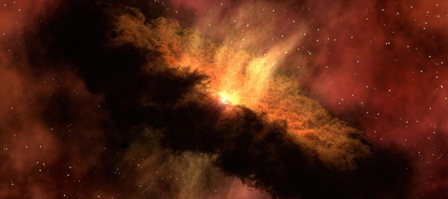 Künstlerische Darstellung einer protoplanetaren Scheibe um einen jungen Stern | Foto: NASA/JPL-Caltech