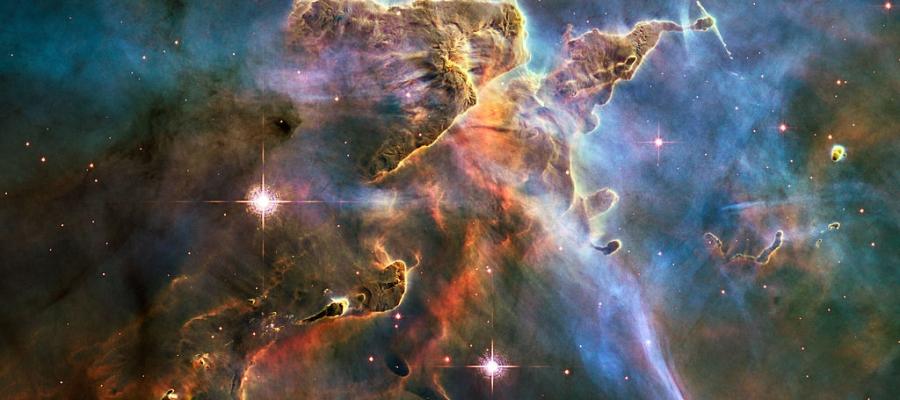 Sternentstehung im Carina-Nebel | Foto: NASA, ESA, and M. Livio, The Hubble Heritage Team und das Hubble 20th Anniversary Team