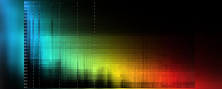 Beispielhafte Spektren von Zwergsternen verschiedener Spektralklassen | Foto: User:Warrickball, von Wikimedia Commons